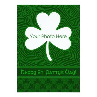 Sts Patrick dagfoto 12,7 X 17,8 Cm Inbjudningskort