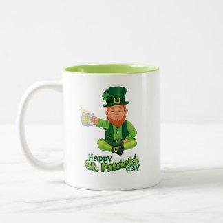 Sts Patrick dagmugg Två-Tonad Mugg