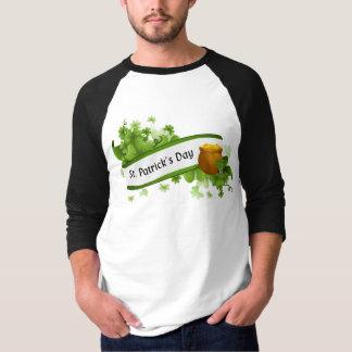 Sts Patrick dagT-tröja Tee Shirt