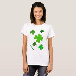 Sts Patrick dagTshirt för kvinnor T-shirt