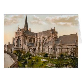 Sts Patrick domkyrka Dublin Irland OBS Kort