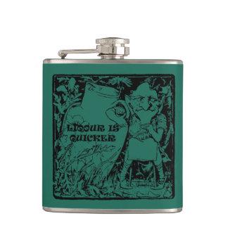 Sts Patrick flaska för leprechaunsstarksprit Fickplunta