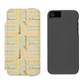 Sts Patrick fodral för plånbok för dagiPhone