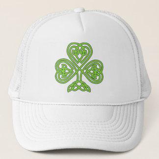 Sts Patrick hatt för klöver för dagShamrock Keps