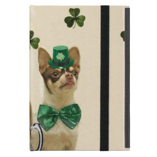 Sts Patrick hundar för dagChihuahua iPad Mini Skydd