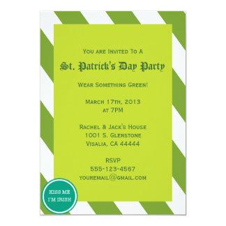 Sts Patrick inbjudan för dagparty