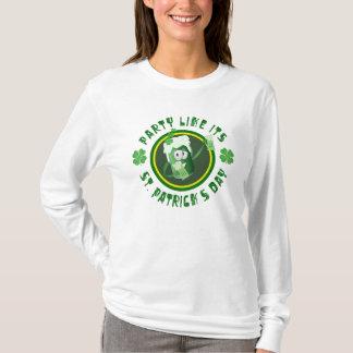 Sts Patrick skjorta för dagparty Tshirts