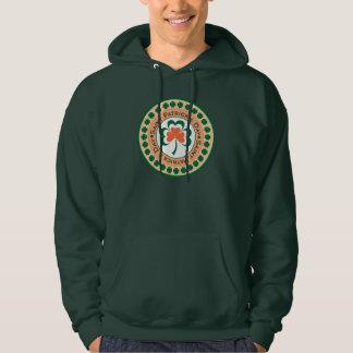 Sts Patrick T-tröja för dagfrimärke Tröja Med Luva