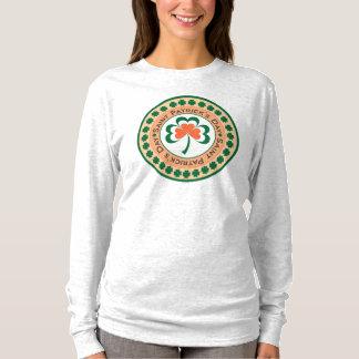 Sts Patrick T-tröja för dagfrimärke Tshirts