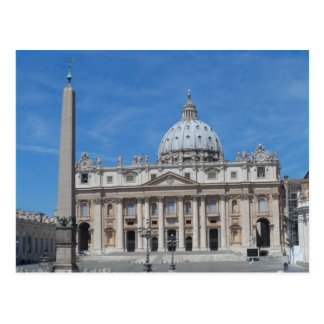 Sts Peter basilica Vatican City Vykort