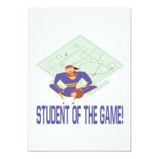 Student av leken 12,7 x 17,8 cm inbjudningskort