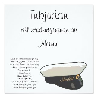 Student inbjudan