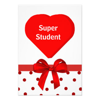 Student valentinkort