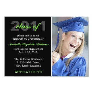 Studenten 12,7 X 17,8 Cm Inbjudningskort