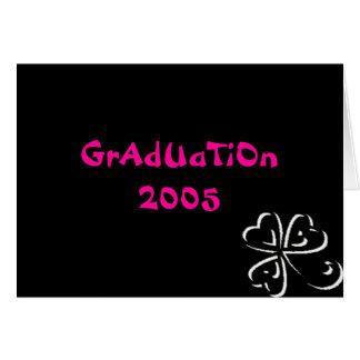Studenten 2005 hälsningskort