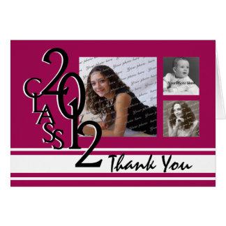 Studenten 2012 tackar dig