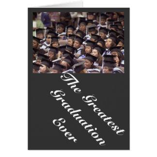 studenten hälsnings kort