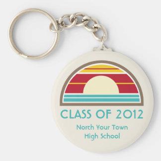 Studenten klassificerar av 70-tal 2012 inspirerad nyckelring
