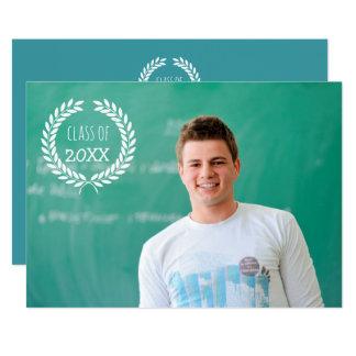 Studenten klassificerar av fotoinbjudningar 12,7 x 17,8 cm inbjudningskort