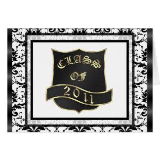 Studenten klassificerar tackkortet 2011 hälsningskort