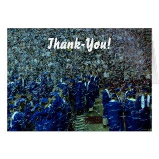 Studenten Tacka-dig Hälsningskort