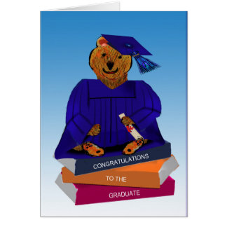 Studentenbjörnkort Hälsningskort