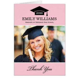 Studententackfotoet Cards   nätt rosor OBS Kort