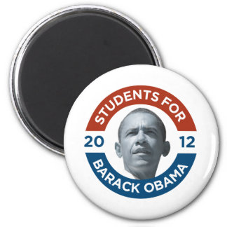 Studenter för Barack Obama 2012 Magnet