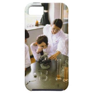 Studenter skolar in kemilabbet iPhone 5 Case-Mate fodraler
