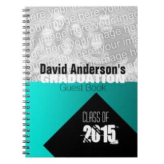 Studentfesten klassificerar av 2017 beställnings- anteckningsbok med spiral