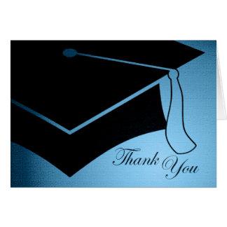 studentmössa: tacka dig hälsningskort