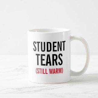 Studenttårar stillar varmt kaffemugg