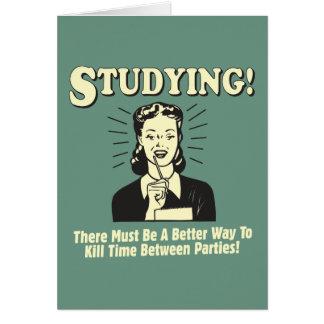 Studera: Döda Time Kort