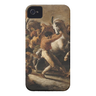 Studie för tävlingen av de barbar- hästarna Case-Mate iPhone 4 skal
