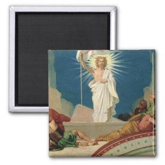 Studie för uppståndelsen av Kristus, 1860 Magnet