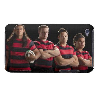 Studioporträtt av det male rugbylaget iPod touch cover