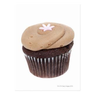 Studiostilleben som skjutas av cupcakes. vykort