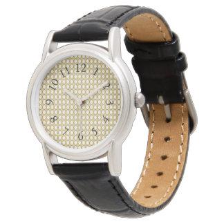 Stuga-Diamanter (c) Newport Cream*ST_Multi-Styles Armbandsur