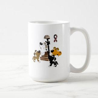 Stupad soldat - priset av frihet kaffemugg