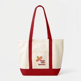 Sturge-Weber syndrom Tote Bag