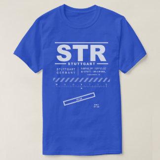 Stuttgart flygplatsSTR T-tröja T Shirts