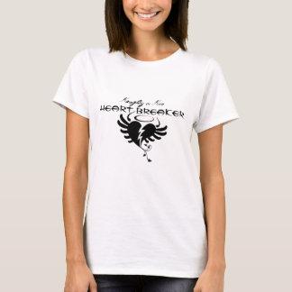 Stygg eller trevlig hjärtasäkerhetsbrytareT-tröja T-shirts