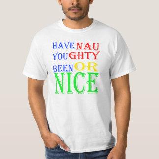 Stygg eller trevlig julT-tröja T Shirt