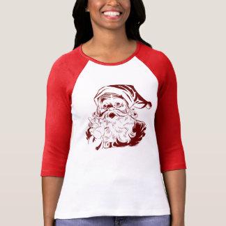 Stygg eller trevlig jultomten tshirts