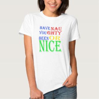 Stygg eller trevlig T-tröja Tee