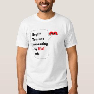 Stygg hjärta tee shirts