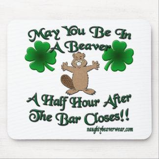 Stygg irländsk välsignelse musmatta