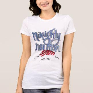 Stygg normandisk fläktskjorta för damer tee shirt
