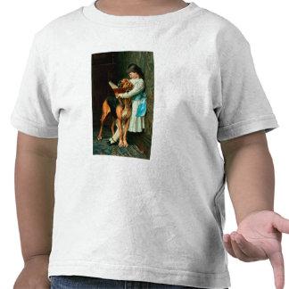 Stygg pojke eller obligatorisk utbildning tshirts