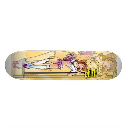 Stygg SchoolgirlSkateboard Mini Skateboard Bräda 18,5 Cm